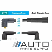 VDO Ignition Lead Set For Toyota AE80 Corolla 1.3ltr 2ALU 1983-1989