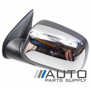 Holden RA Rodeo LH Chrome Electric Mirror 2003-2005 Models *New*