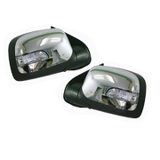 Holden RC Colorado Chrome Electric Mirrors Set w/ Indicator 2008-2011 *New*