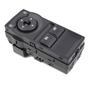 Holden VE Commodore Ute Window Master Switch Black (lights up red) 2006-2012
