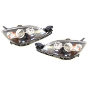 Mazda 3 BK Hatch Headlights Head Lights Lamps 2004-2008 *New Pair*