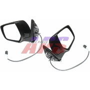 Ford PJ Ranger or Mazda BT-50 LH + RH Black Power Door Mirrors 2005-2009 *New Pair*