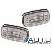 1997-2002 Toyota Camry DV20 Pair of Clear Lens Guard Indicators Flashers *Performance*