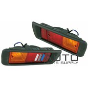 Pair of Rear Bar Lights For Toyota Landcruiser Prado 90 95 series 1996-2002