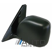 Mitsubishi NM NP Pajero LH Electric Door Mirror Black 2000-2006