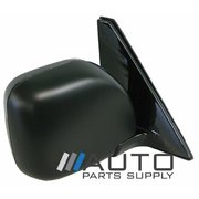 Mitsubishi NM NP Pajero RH Electric Door Mirror Black 2000-2006
