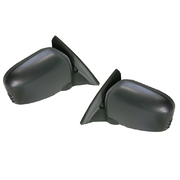 Mitsubishi ML MN Triton Black Manual Door Mirrors Set 2006-2015 *New*