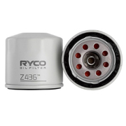Ryco Oil Filter For Nissan D23 Navara NP300 2.5ltr QR25DE 2015-On