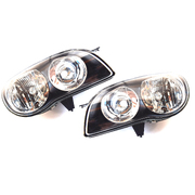 Pair of Headlights For 1999-2001 Toyota AE112 Corolla Series 2