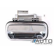 LH Rear Outer Door Handle (All Chrome) For Toyota 95 Series Prado 1996-2002