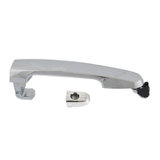Front Chrome Outer Door Handle Barrel Type For Toyota Camry 36 Series 2002-2006