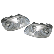 Volkswagen VW Caddy Headlights Head Lights Lamps Set 2005-2010 *New*