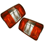 Volkswagen VW Caddy Van LH + RH Tail Lights Lamps suit 2005-2010 Models *New*