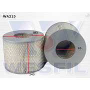 Air Filter to suit Daihatsu Delta 3.4L D 11/84-1990
