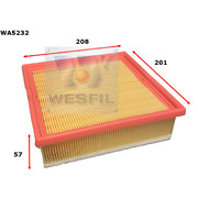 Air Filter to suit Fiat Doblo 2.0L JTD 11/14-on