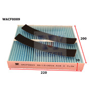 Cabin Filter to suit Nissan Patrol 4.8L  09/07-01/12