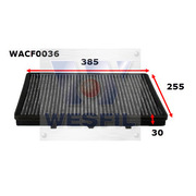 Cabin Filter to suit Rover 75 2.5 V6 2001-2005